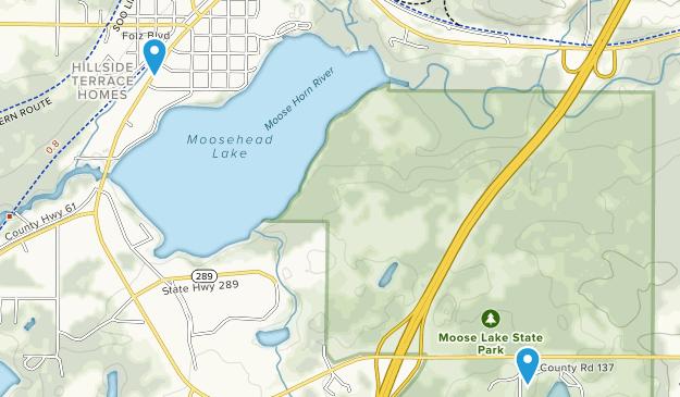 Moose Lake, Minnesota Map