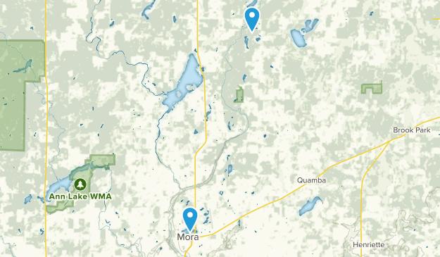 Mora, Minnesota Map