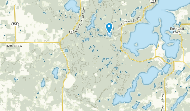 Nisswa, Minnesota Map