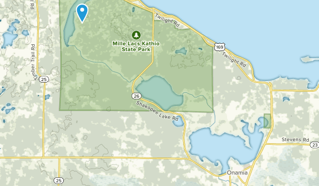 Onamia, Minnesota Map