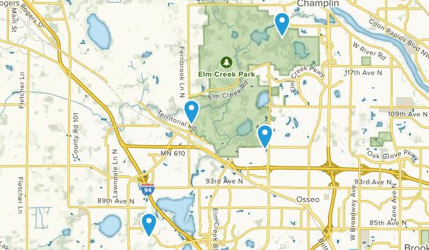 Osseo, Minnesota Map