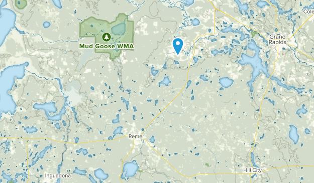 Remer, Minnesota Map