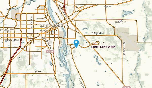 St. Cloud, Minnesota Map