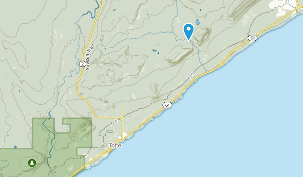 Tofte, Minnesota Map