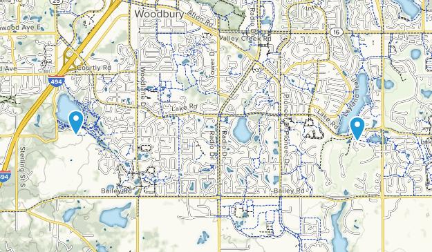 Woodbury, Minnesota Map