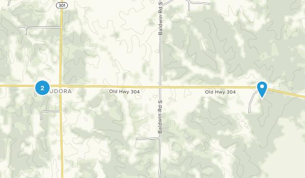 Hernando, Mississippi Map