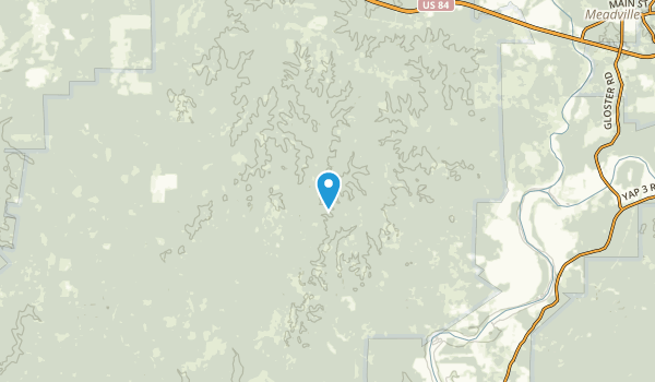 Roxie, Mississippi Map