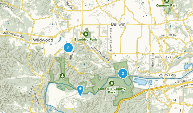 Ballwin, Missouri Map