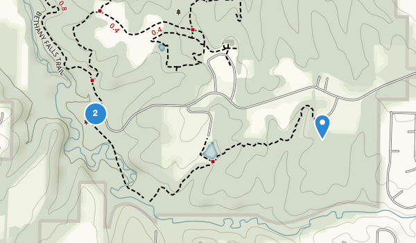 trail locations for Blue Springs, Missouri