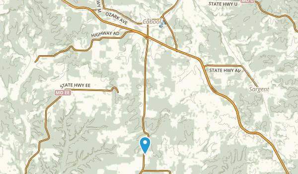 Cabool, Missouri Map