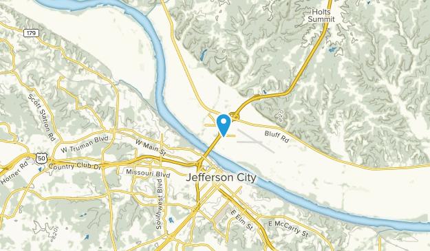 Cedar City, Missouri Map