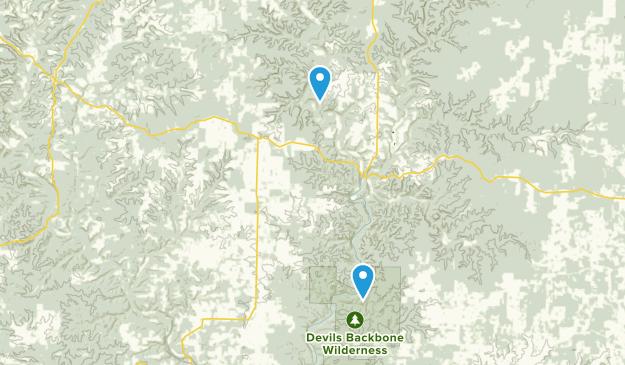 Dora, Missouri Map