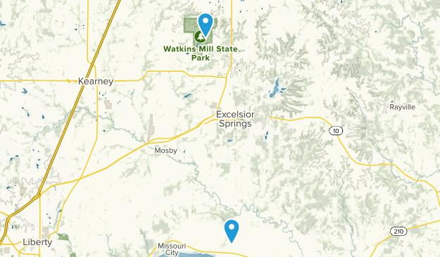 Excelsior Springs, Missouri Map
