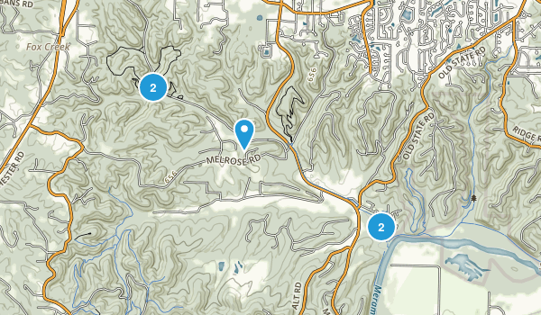 Lime Hollow Nature Center Trail Map