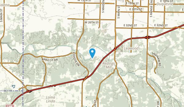 Grand Falls Plaza, Missouri Map
