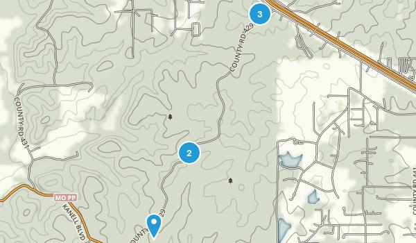 Green Forest, Missouri Map