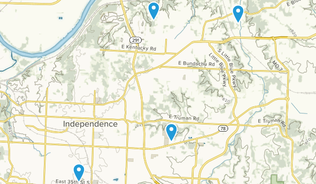 Independence, Missouri Map