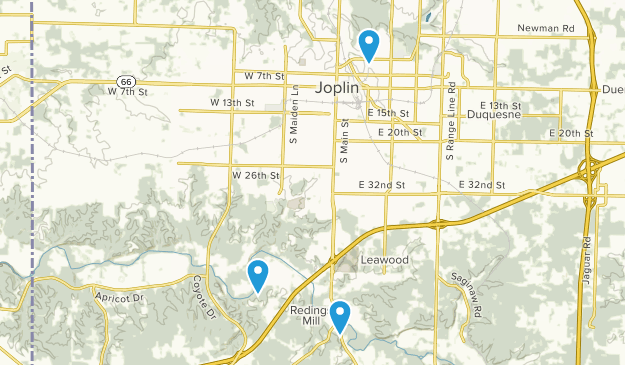 Joplin, Missouri Map