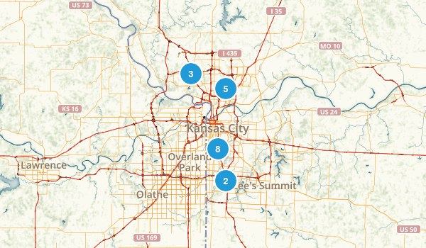 Best trails near kansas city missouri alltrails kansas city missouri map sciox Image collections