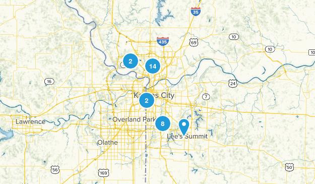 Kansas City, Missouri Map