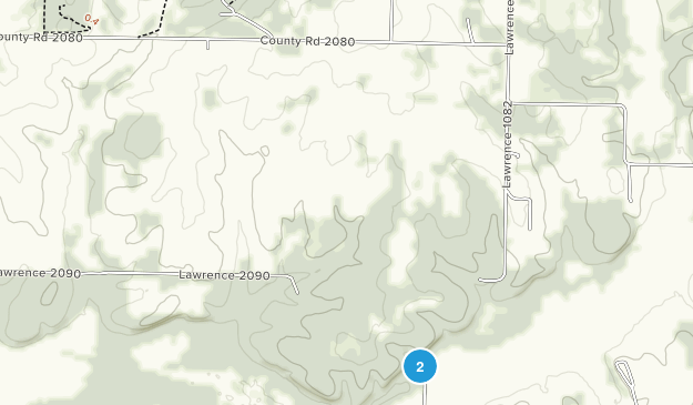 La Russell, Missouri Map