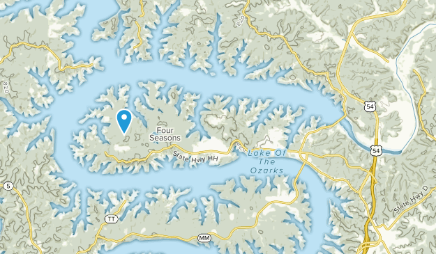 Lake Ozark, Missouri Map