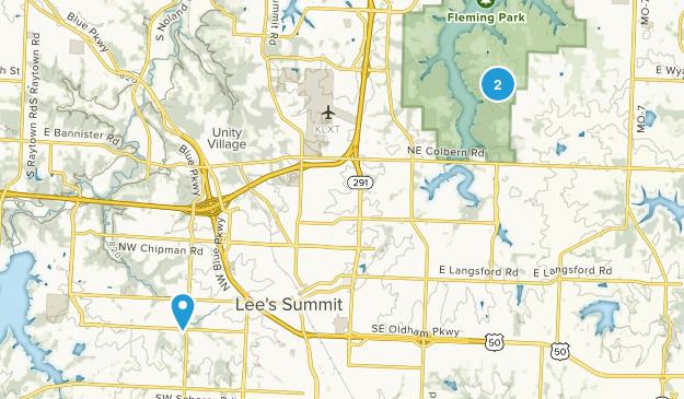 Lees Summit, Missouri Map