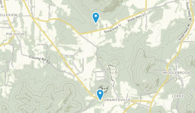 Middlebrook, Missouri Map