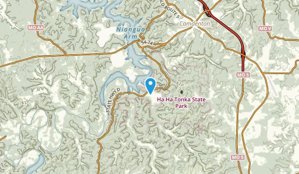 Warren, Missouri Map