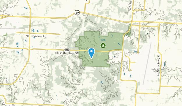 Whiteman Air Force Base, Missouri Map