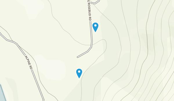 Alpine, Montana Map