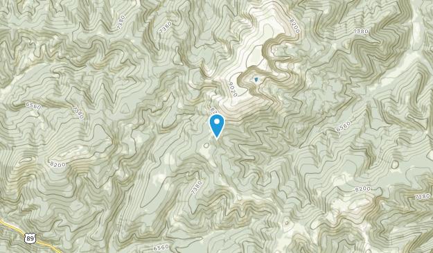 Barker, Montana Map