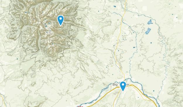 Big Timber, Montana Map