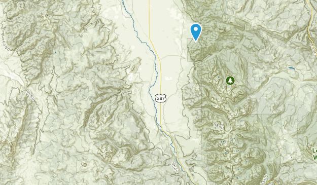 Cameron, Montana Map