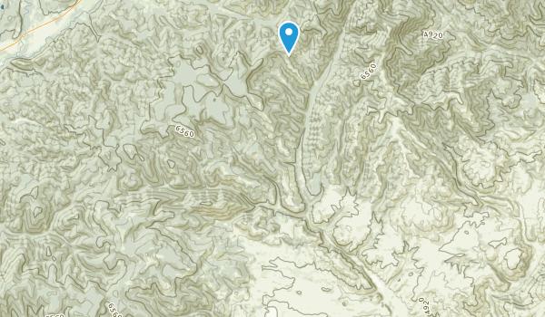 Canyon Creek, Montana Map