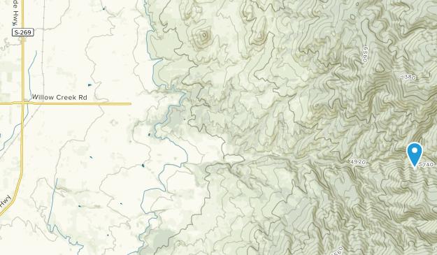 Corvallis, Montana Map