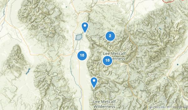 Ennis, Montana Map