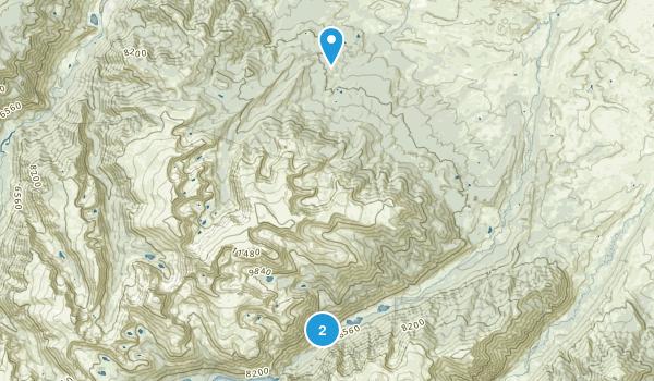 Fishtail, Montana Map
