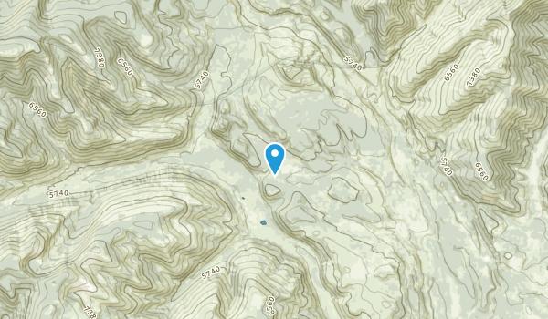 Huckleberry Trailer Court, Montana Map