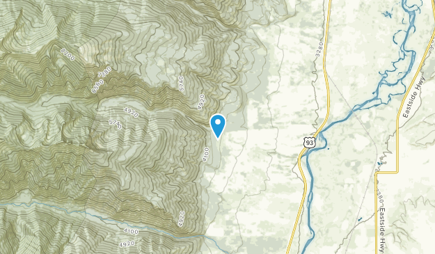 Kenspur, Montana Map