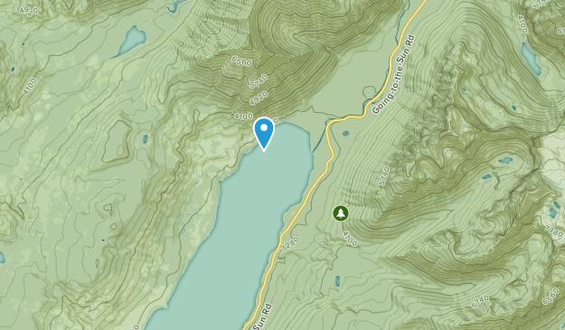 Lake Mc Donald, Montana Map