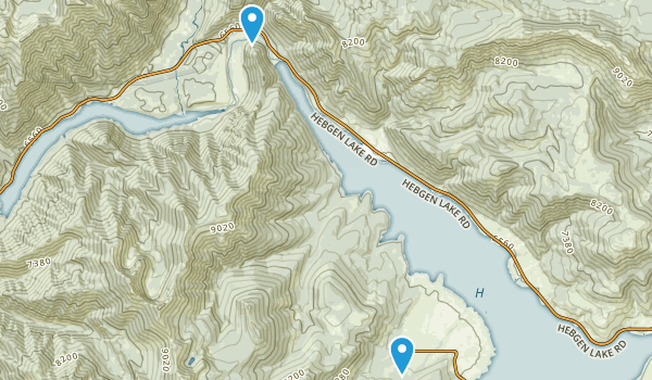Lakeview, Montana Map