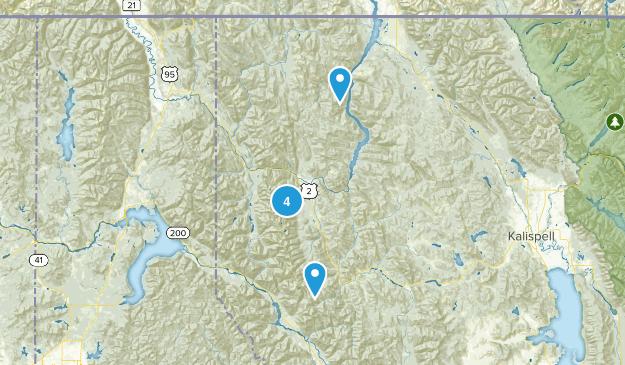 Libby, Montana Map