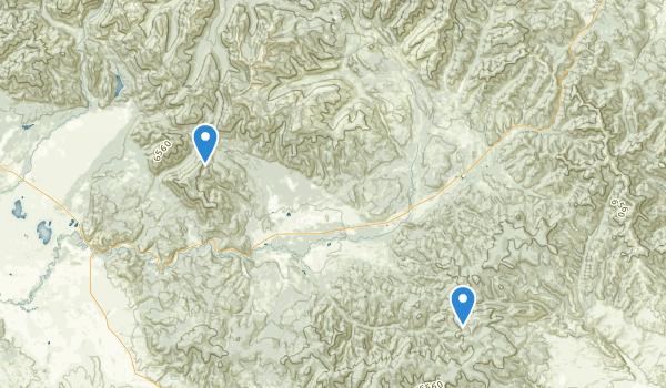 Lincoln, Montana Map
