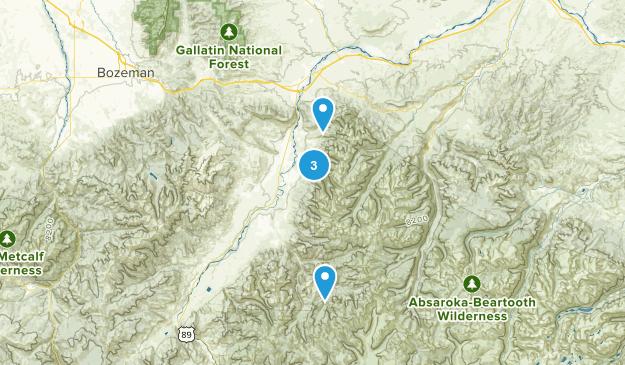 Livingston, Montana Map