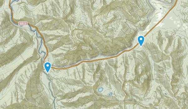 Nimrod, Montana Map