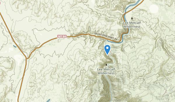 Norris, Montana Map