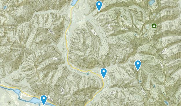 Noxon, Montana Map