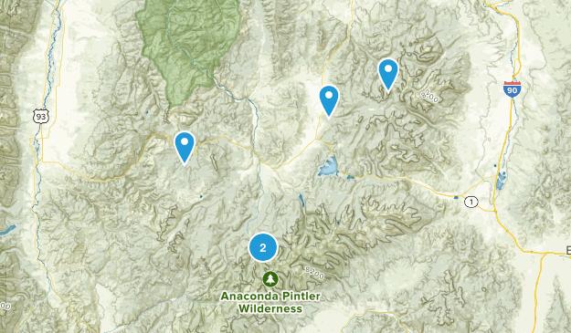 Philipsburg, Montana Map