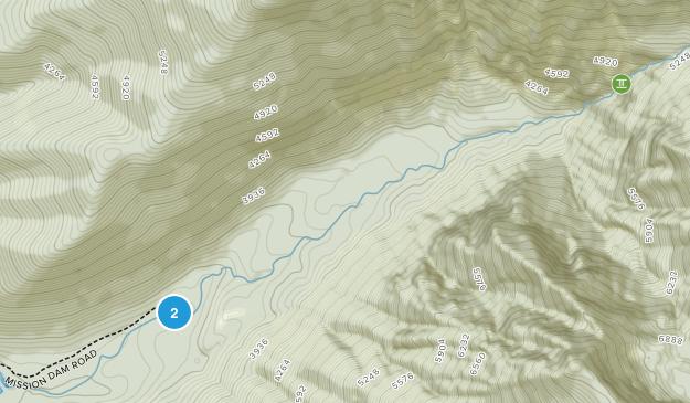 St Ignatius, Montana Map